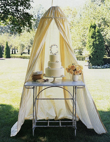 Canopy cake thuss vintage fabric & Whatu0027s