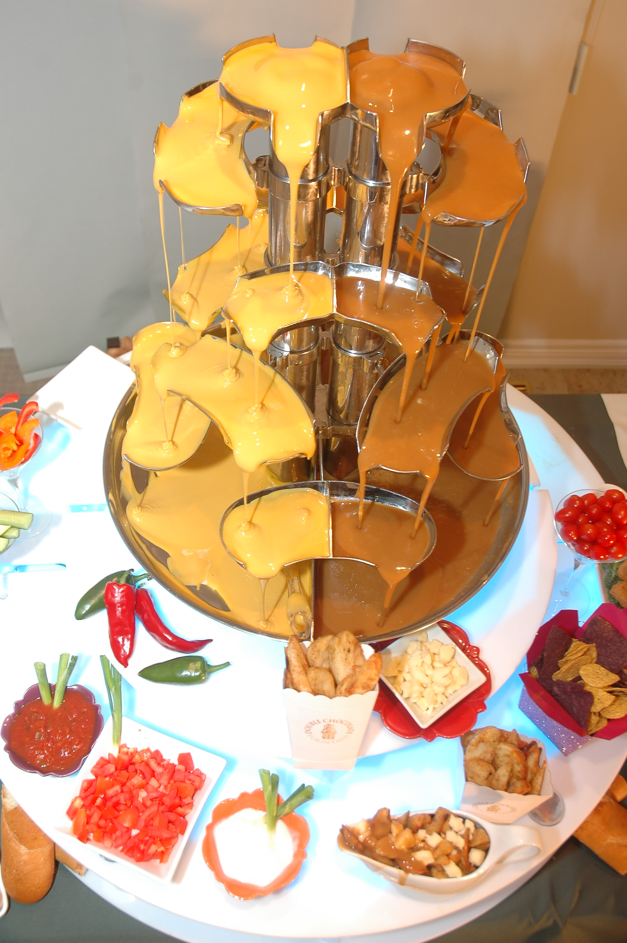 Mmm Savoury Fountains The Wedding Planners Blog