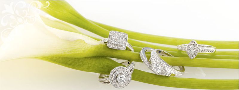 All engagement rings and wedding bands range in price from 4506000 and