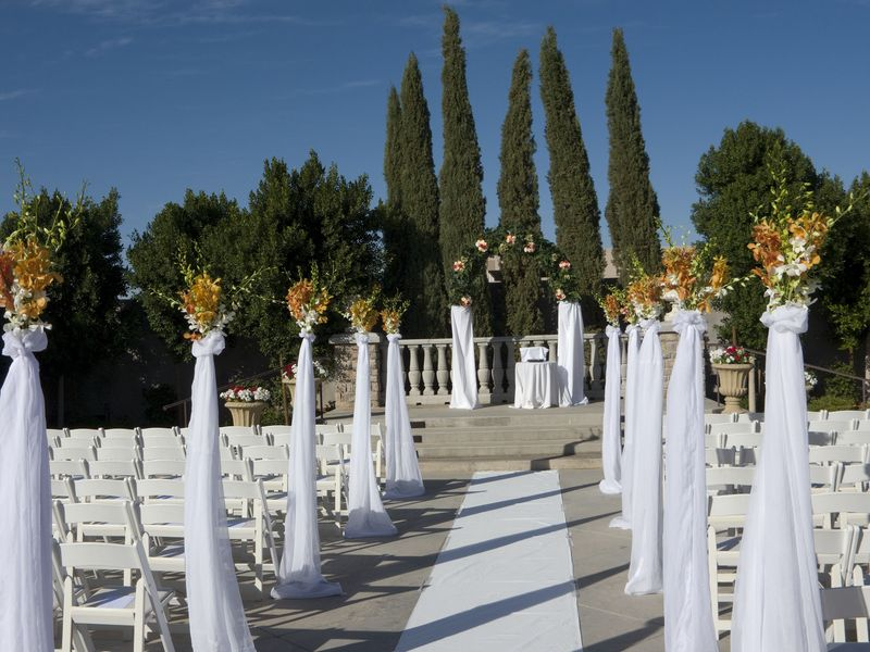 ceremony aisle decor The same idea on steroids