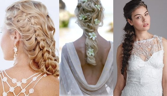 Whats hot for hair brides in braids the wedding planners blog ccuart Image collections