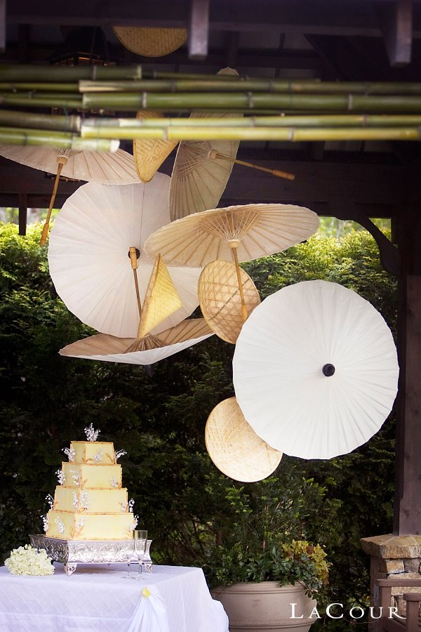 Wedding Cake Decor Parasol cake decor Photo Wedding Dish