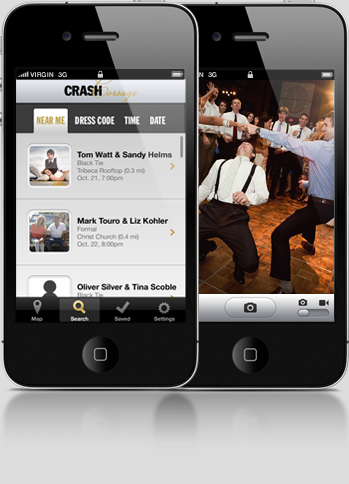 Weddingcrasher app