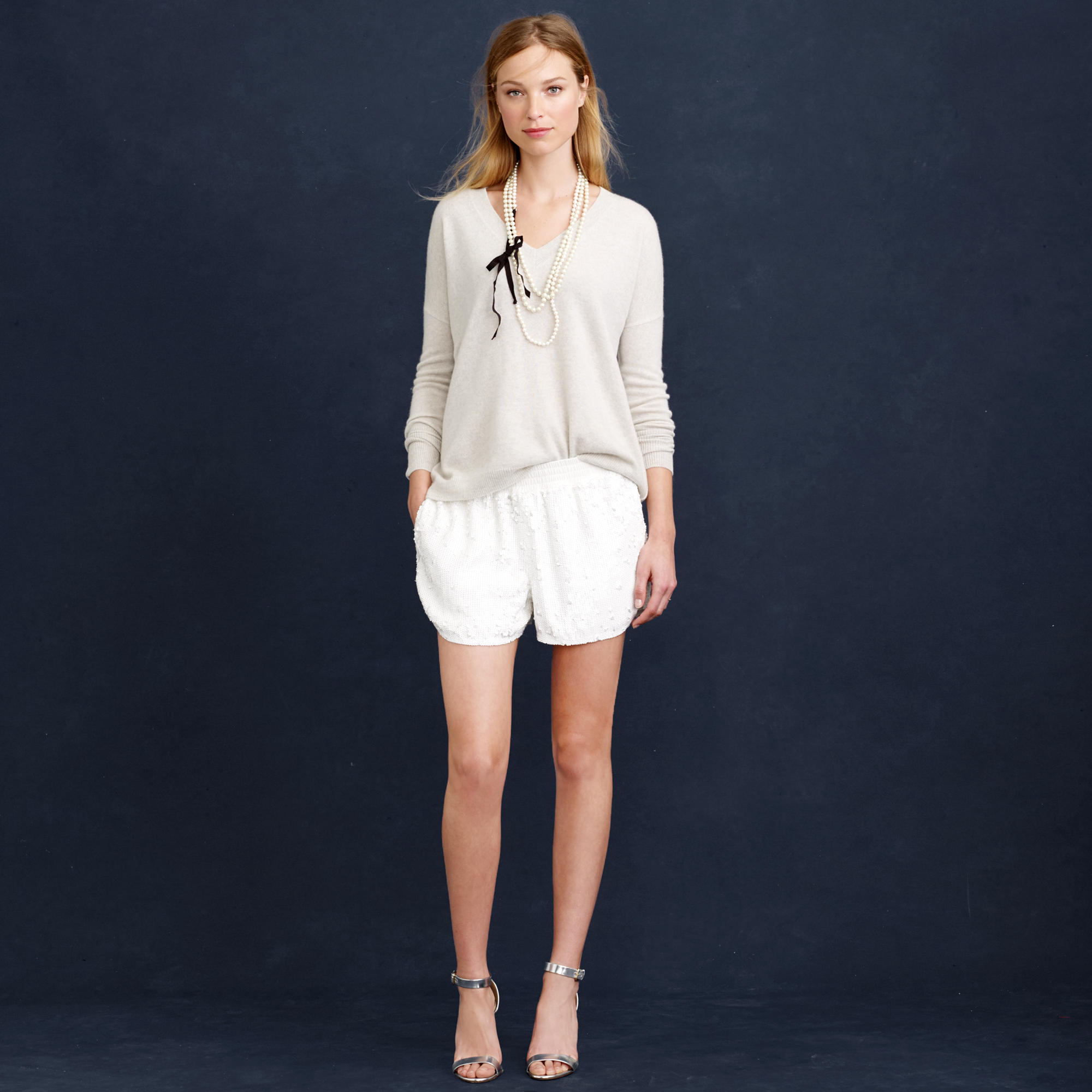 6080e551aab0 The bride wore... shorts  - The Wedding Planners Blog